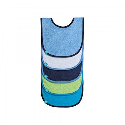 Lassig Value Pack Bibs, Solid Colors Assortment, Boys by Lassig