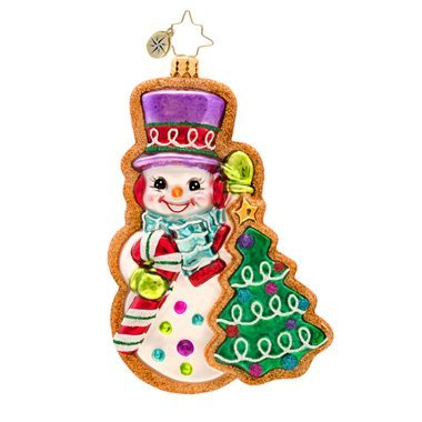 Christopher Radko Frosty Sweet Treat Glass Christmas Ornament 2014