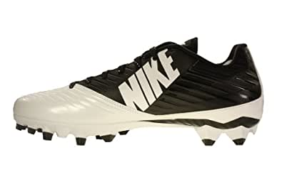 2b9659d25ab0 Nike Men's Vapor Speed Low TD Football Cleat Black/White/Black Size 12 M