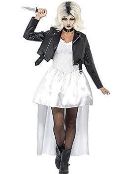 Novia de Chucky Halloween blanco negro
