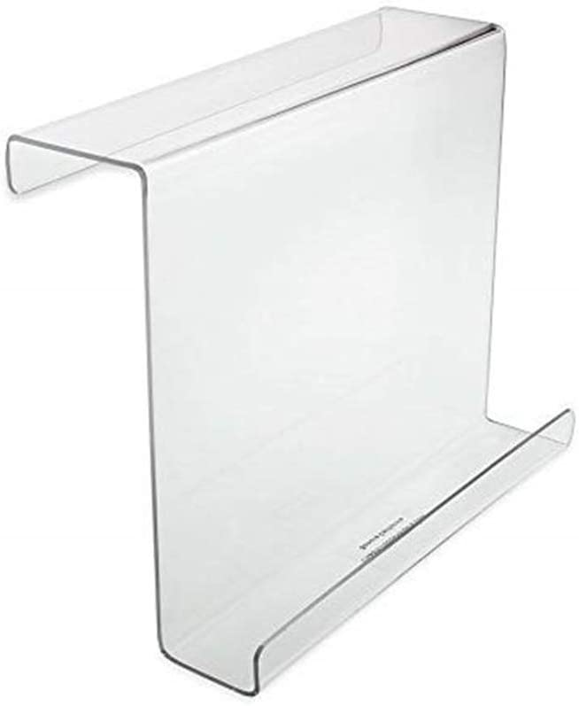 9.06X3.98X7.99inch Magazine Rack,eReader Treadmill Book Holder Reading Rack etateta Acrylic Universal Treadmill Bookholder,Tablet