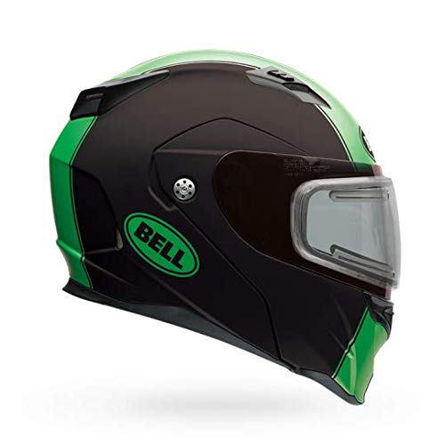 Bell Revolver Evo Dual Shield Snow Helmet (Matte Rally Green, Medium)