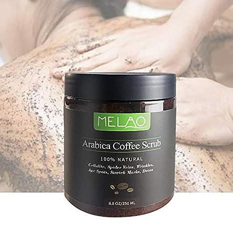 8.8 oz,100% Exfoliante natural de café arábica con café ...