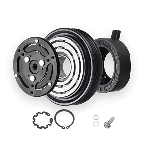 2005-2009 Subaru Outback 4cyl 2.5L A/C AC COMPRESSOR CLUTCH KIT (6 GROOVE PULLEY, BEARING, COIL, PLATE)