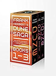 Frank Herbert's Dune Saga 3-Book Boxed Set: Dune, Dune Messiah, and Children of
