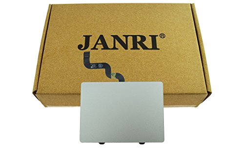 JANRI Replacement 821-1610-02 821-1610-A Trackpad Touchpad with Flex Ribbon Cable For Apple Macbook Pro A1398 15'' Retina Macbookpro10,1 Mid 2012 Early 2013 661-6532 by JANRI