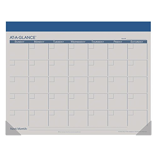 AT-A-GLANCE Undated Fashion Color Desk Pad 2016, 12 Months, 22 x 17 Inch Page Size, Color Will Vary (SK22510) Photo #4
