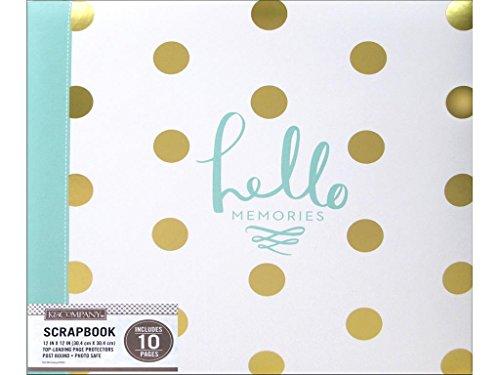 (K & Company C&T Publishing KAC735675 K&Co ScBlack Foil Dot Hello Memories)
