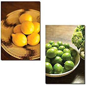 This Item Popular Bowls Of Lemon And Lime Kitchen Decor Two 12x18in Poster Prints