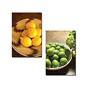 Popular Bowls Of Lemon And Lime Kitchen Decor Two 12x18in Poster Prints