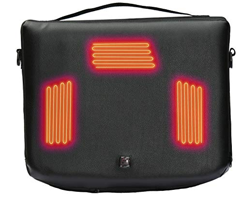 Heated Seat Cushion by Volt, Comes with a rechargeable 5v USB Battery, Zero Layer Heat System for your any sporting event, hunting, fishing and the car, Light/easy to carry,Hours of heat for your rear