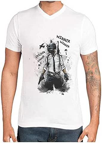 BattleGround PUBG t-shirt chicken dinner