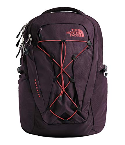 The North Face Women's Borealis Laptop Backpack - 15 Inch (Galaxy Purple/Juicy Red)