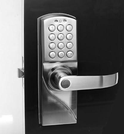 Right Handed Digital Combination Keypad Door Lock with Backup Keys ...