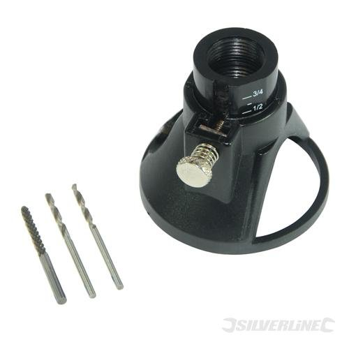 Silverline 261280 Multipurpose Cutting Kit 3 Bits - 4 Pieces