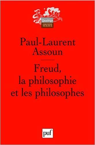 En ligne Freud, la philosophie et les philosophes pdf ebook