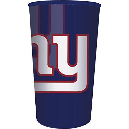 New York Giants 22oz Plastic Stadium Cup (1 ct)