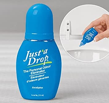 Amazoncom Just A Drop The Natural Toilet Odor Neutralizer - Bathroom odor neutralizer