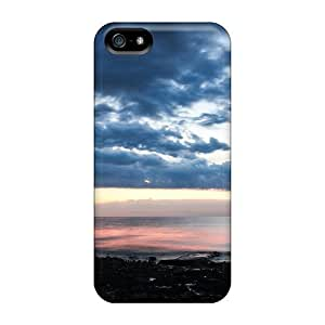 High Impact Dirt/shock Proof Diy For Iphone 4/4s Case Cover (sunset In Izola)