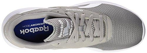 Reebok Royal EC Ride Zapatillas de deporte, Hombre Gris / Blanco (Tin Grey/White)