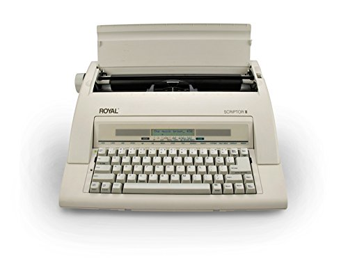 13'' Portable Electronic Typewriter with LCD Display, Spellcheck, and Memory by Royal