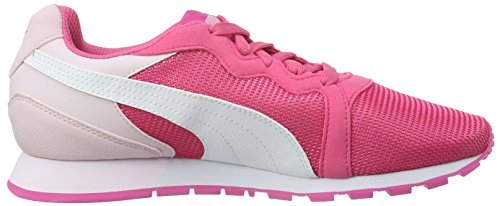 Puma Pacer - Zapatilla Baja Unisex Niños Rosa - Pink (Fandango Pink-puma White 03)