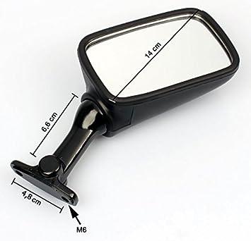 2x Specchio retrovisori compatibile per Yamaha FZR 1000 YZF 600 Thundercat TRX 850