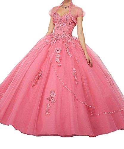 hot pink 15 anos dresses - 5