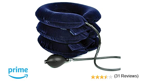 Collar para la tracción cervical inflable FreeNeck - Collarín ...