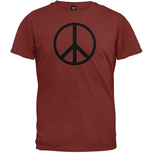 Peace Sign Cedar T-Shirt