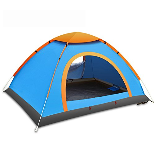 Portable Folding Waterproof Outdoor Tent Camping for 3-4 Persons Camping Tent