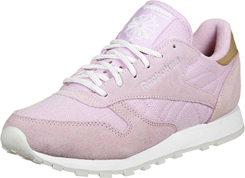 Leather Rosa White Sneaker Rosa Shell Classic Reebok Worn Damen Schuhe BD1509 274976 Damen Sneaker Sea Purple FgPtUwqxt