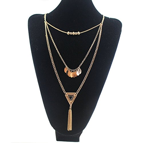 NL1200010C1 New Style Alloy Europe Geometric Plating Women's Necklace
