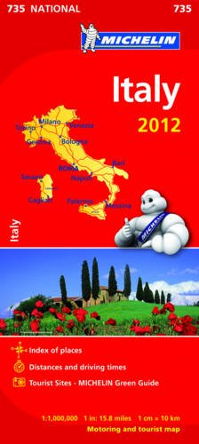 Italy 2012 (Michelin National Maps)