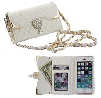 7c79318890 ノーブランド iphone6 / 6 plus バッグ 風 デコ キルティング ケース / カバー アイフォン 手帳 型