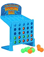 Bouncing Linking Shots Educational Toys, Connect 4 Shots Game, Bouncing Link Shots, Classic Board Games, Parent-Child Interaction Table Game, for Kids