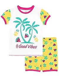 Harry Bear Girls Watermelon Short Pajamas