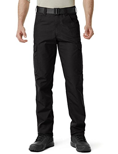 CQR CQ-TWP302-BLK_38W/34L Men's Operator Rip-Stop Tactical Work Utility Pants EDC TWP302 by CQR (Image #5)