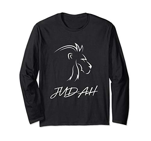 Judah and 12 Tribes of Israel Bible Long Sleeve T-Shirt