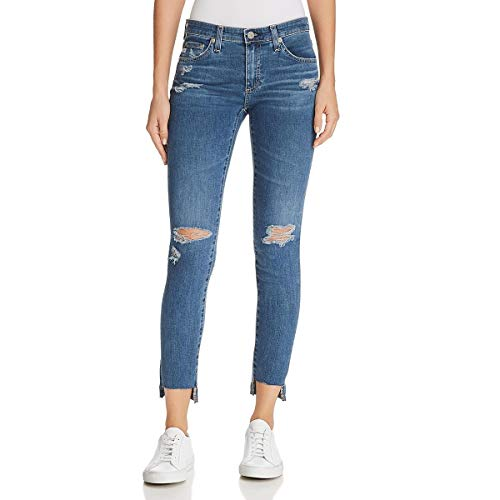 AG Adriano Goldschmied Women's The Legging Ankle Super Skinny Jean, Years seamist Destructed, 27 ()
