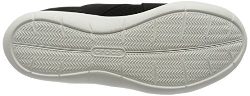 Crocs Swiftwater X-Strap, Zuecos para Mujer Negro (Black / White)