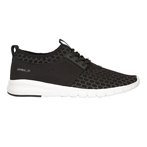Gola Mens Salinas Lace Up Fashion Trainer / Sneakers Nero / Bianco