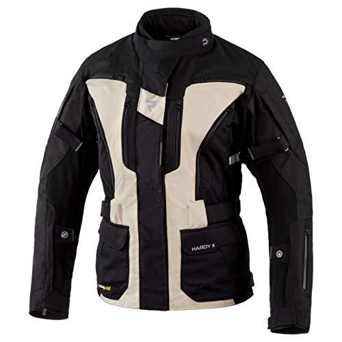 REBELHORN Hardy II Motorrad Tour Jacke für Frauen 3 Schichten Wasserdichte atmungsaktive Membran CE-Level 2 Ellbogen…