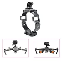STARTRC 360-degree Rotatable Action Camera Fill Light Holder Mount Bracket for DJI Mavic Pro Drone