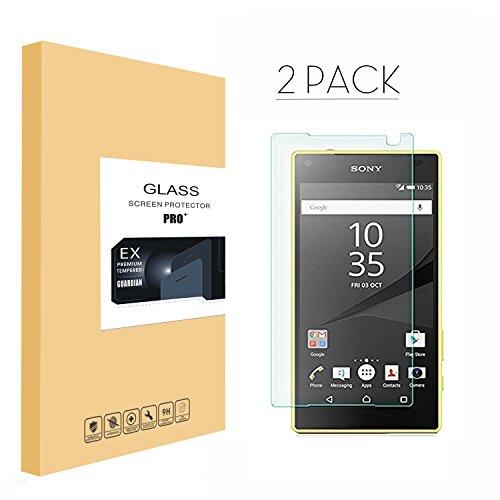 排泄する過敏な懐【2枚セット】Sony Xperia Z5 フィルム,Sony Xperia Z5 液晶保護フィルム フィルム-GeekChips(硬度9H / 気泡防止 / 指紋防止)