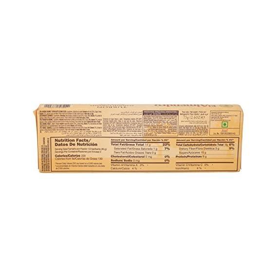 El Almendro Turron Chocolate - Almond Caramel, 75g Pack