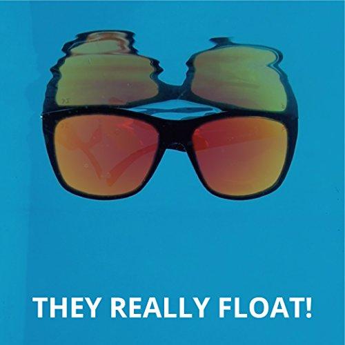 3630cf6ba12 Floating Sunglasses - Polarized Floatable Shades by KZ Gear - UV400 Lenses  - Shades that Float - Modern Floatable