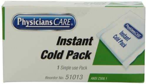 (PhysiciansCare by First Aid Only First Aid Disposable Instant Cold Pack (Pack of 10))