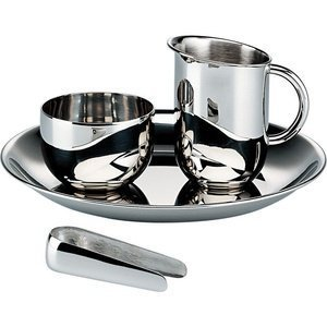 Alessi Mercurio Glass Coasters Set of Six by Alessi