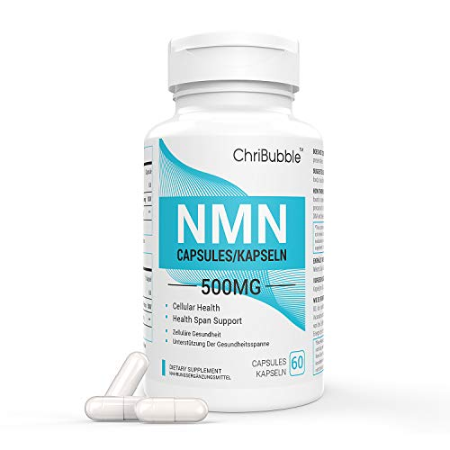 NMN Supplements with Maximum Strength | 500mg Per Capsule | Powerful Boost NAD+ Levels for Supports Anti-Aging & Mental…